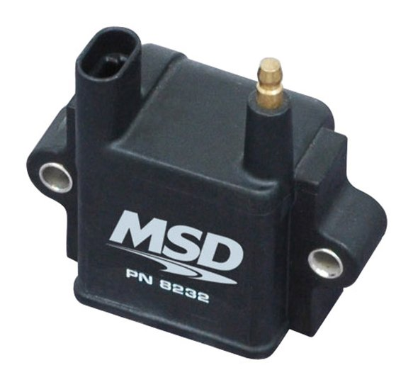 8232 - MSD Ignition Coil (Single Tower), CPC Ignition Control, Black, Individual Image