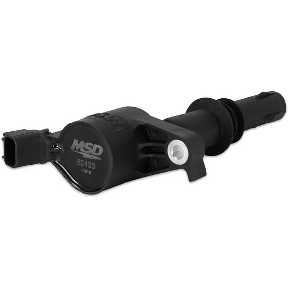 82433 - Black Ford COP Coil 3-Valve 4.6L/5.4L '04-'08, Single Image