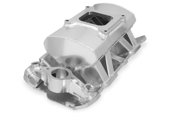 825011 - Sniper Sheet Metal Fabricated Intake Manifold Small Block Chevy - additional Image