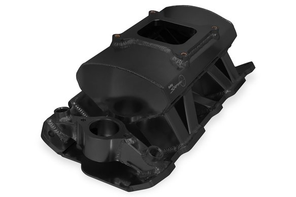 825012 - Sniper Sheet Metal Fabricated Intake Manifold Small Block Chevy - additional Image