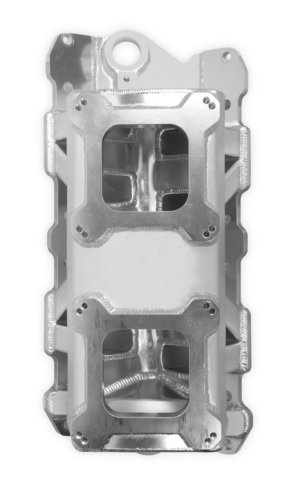 825071 - Sniper Sheet Metal Fabricated Intake Manifold Small Block Chevy - additional Image