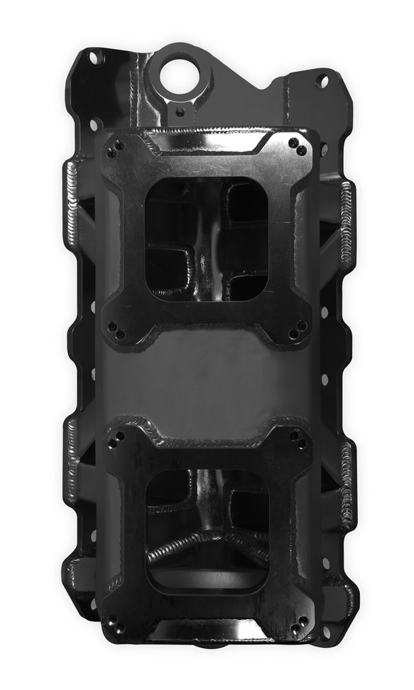 825072 - Sniper Sheet Metal Fabricated Intake Manifold Small Block Chevy - additional Image