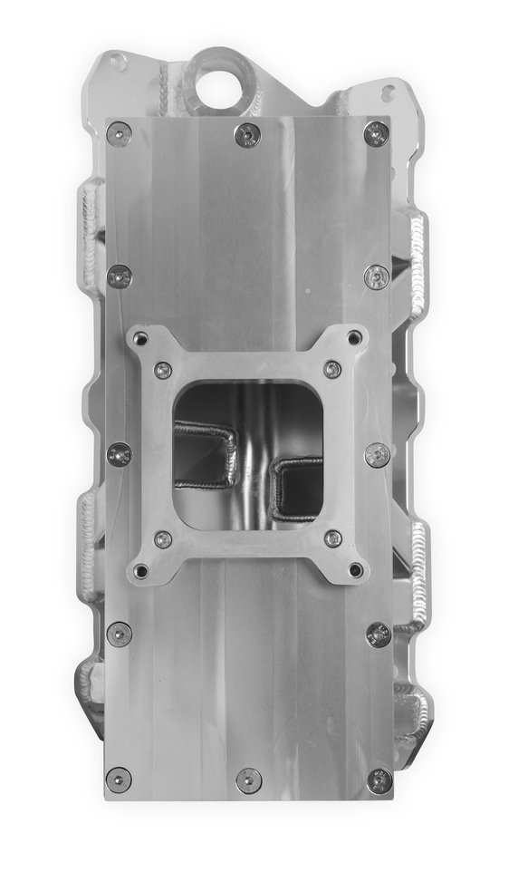 825121 - Sniper Sheet Metal Fabricated Intake Manifold Small Block Chevy - additional Image