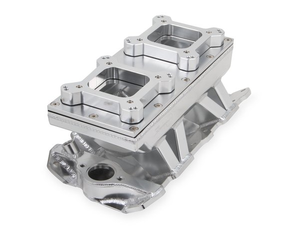 825123 - Sniper Sheet Metal Fabricated Intake Manifold Small Block Chevy Image