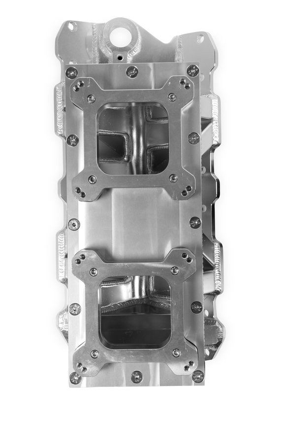 825123 - Sniper Sheet Metal Fabricated Intake Manifold Small Block Chevy - additional Image
