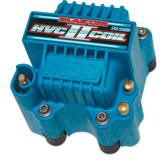 8253 - MSD Ignition Coil HVC-2  Series, 6 Series Ignition Control, Blue, Individual Image