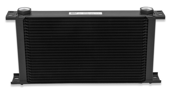 816ERL - Earls UltraPro Oil Cooler - Black - 16 Rows - Extra-Wide Cooler - 10 O-Ring Boss Female Ports - additional Image