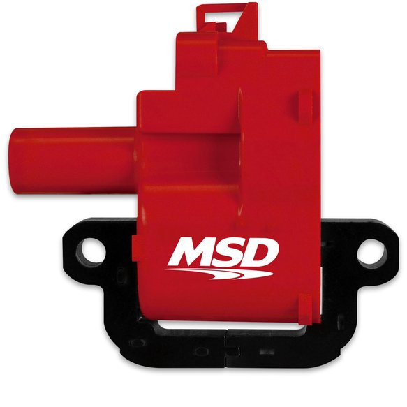 8262 - MSD Ignition Coils Blaster Series 1998-2006 GM LS1/LS6 engines, Black , Individual Image