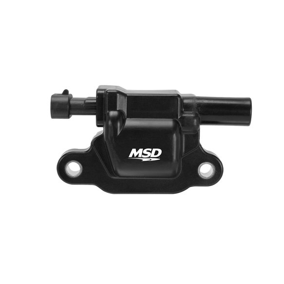 82653 - MSD Ignition Coil 2005-2009 GM L-Series Truck engines, Black, Individual Image
