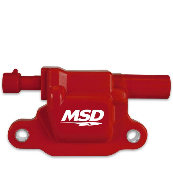 8265 - MSD Ignition Coil Blaster LS Series 2005-2013 GM LS2/LS3/LS4/LS7/LS9 Engines, Red, Individual Image