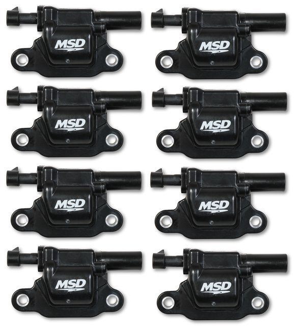 826683 - Blaster Gen V GM Coils, 2014 and Up, Black, Square - 8 Pack Image