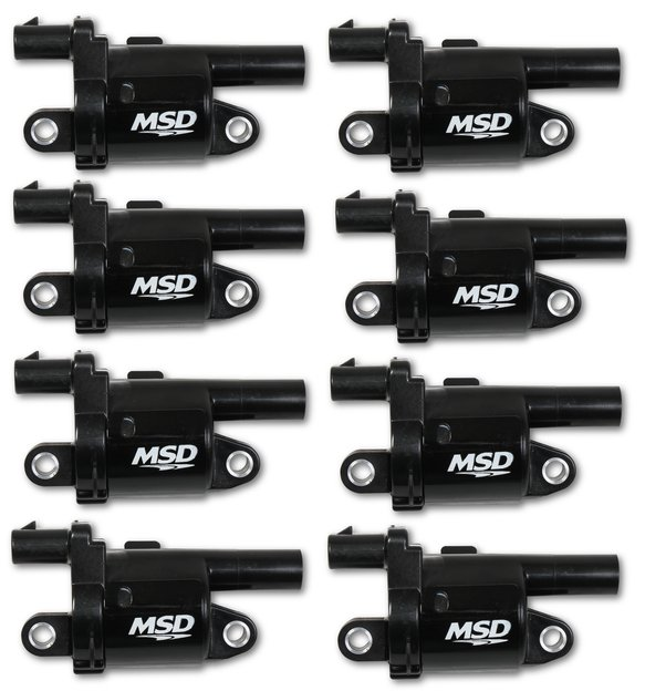 826883 - Blaster Gen V GM Coils, 2014 and Up, Black, Round - 8 Pack Image