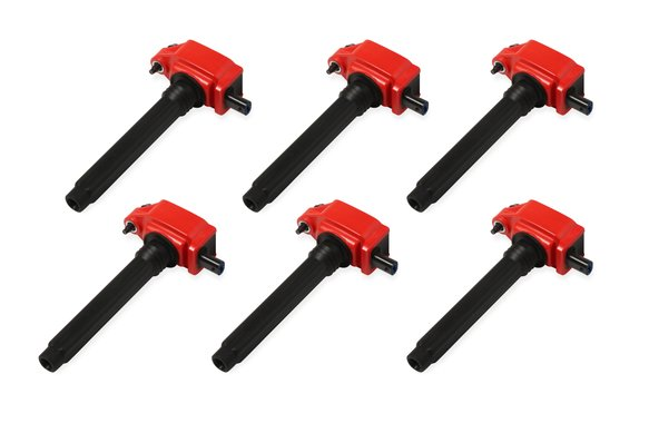 82736 - Blaster Coil, '11-'16 Chrysler V6, 6-Pack, Red Image