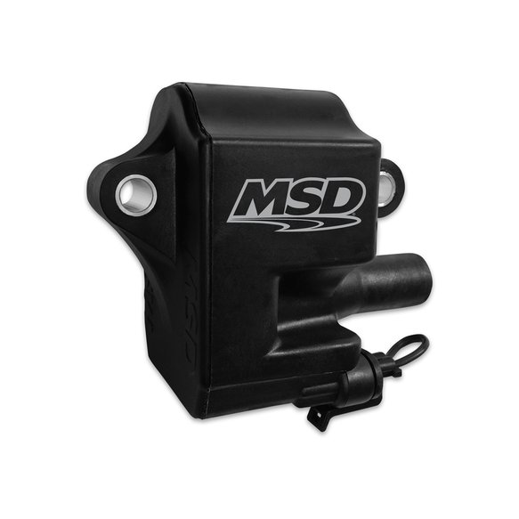 82853 - MSD Ignition Coil Pro Power Series 1997-2004 GM LS1/LS6 Engines ,Black,  Individual Image