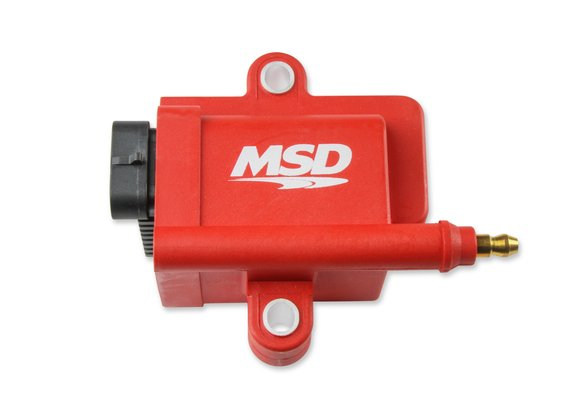 8289 - MSD Ignition Coil, Smart Coil, Red, Individual Image