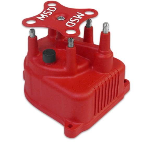 82922 - Distributor Cap, Modified for Honda Civic 1.5/6L '92-'00 Red Image