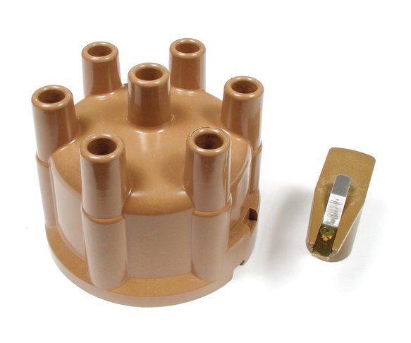 8326 - Distributor Cap & Rotor Kit - Socket Style - Tan Image