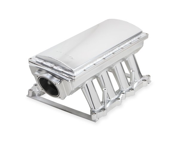 833151 - Sniper EFI Fabricated Race Series Intake Manifold - 2011-14 Ford 5.0L Coyote - Silver Image