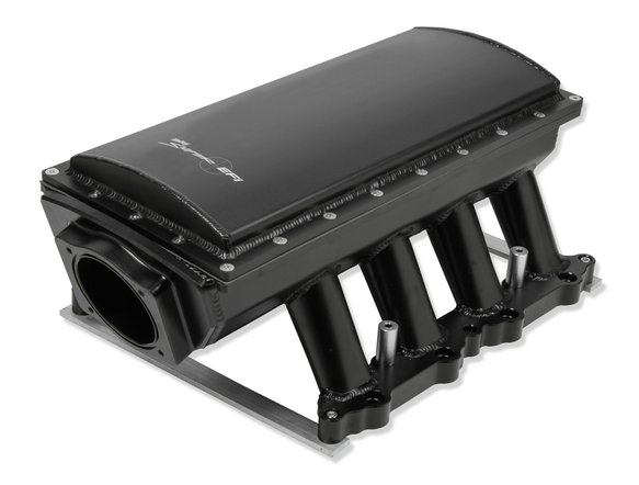 833152 - Sniper EFI Fabricated Race Series Intake Manifold - 2011-14 Ford 5.0L Coyote - Black Image