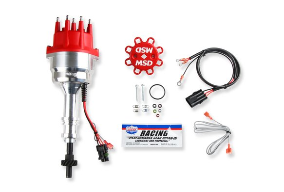 835066 - MSD Ready-to-Run Marine Distributor Ford 351-460, Steel Gear Image