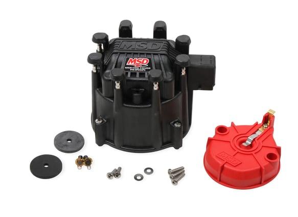 84025 - Black Extreme Output HEI Cap/Rotor Kit Image