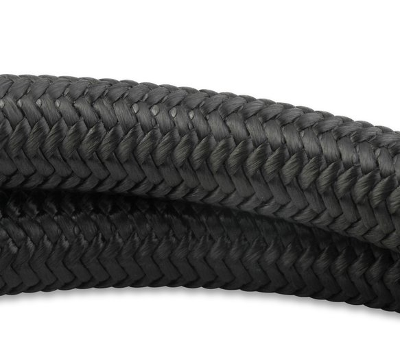842008 - Mr. Gasket Black Nylon Braided Hose 8 AN - 20 Feet - additional Image