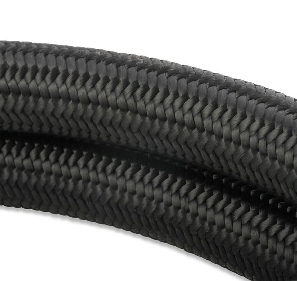 840312 - Mr. Gasket Black Nylon Braided Hose 12 AN - 3 Feet - additional Image