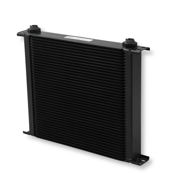 840ERL - Earls UltraPro Oil Cooler - Black - 40 Rows - Extra-Wide Cooler - 10 O-Ring Boss Female Ports Image