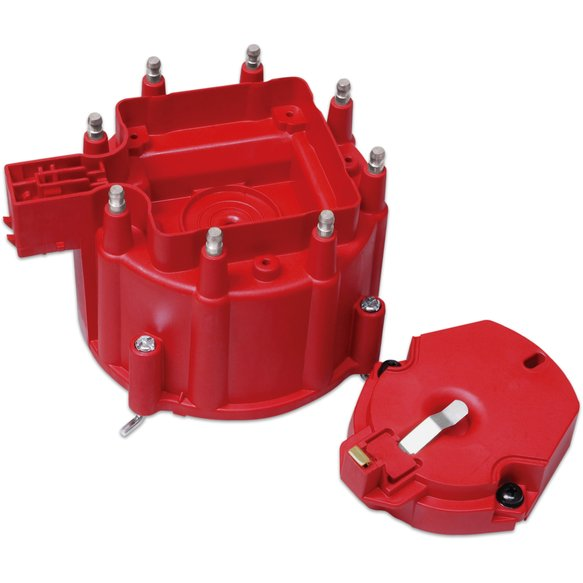 8416 - Distributor Cap and Rotor; GM HEI Dist., Red Image