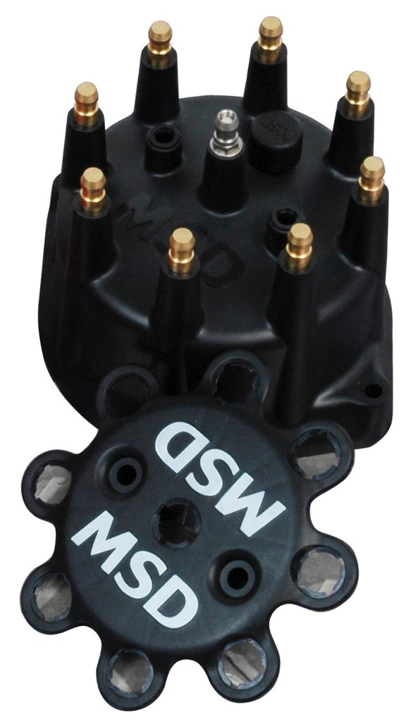 84313 - Black Distributor Cap for PN 8570, 8545, 8546 Image