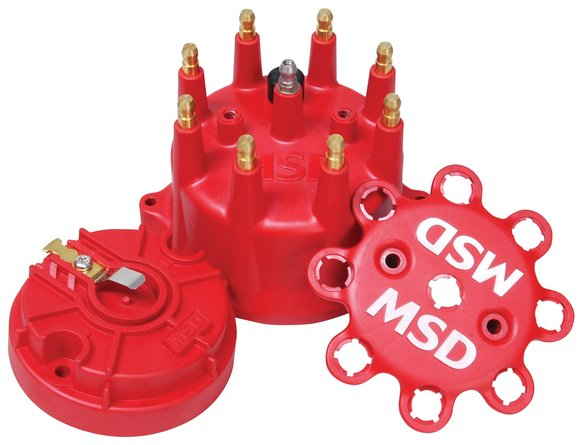 84315 - MSD Red Cap/Rotor Kit Image