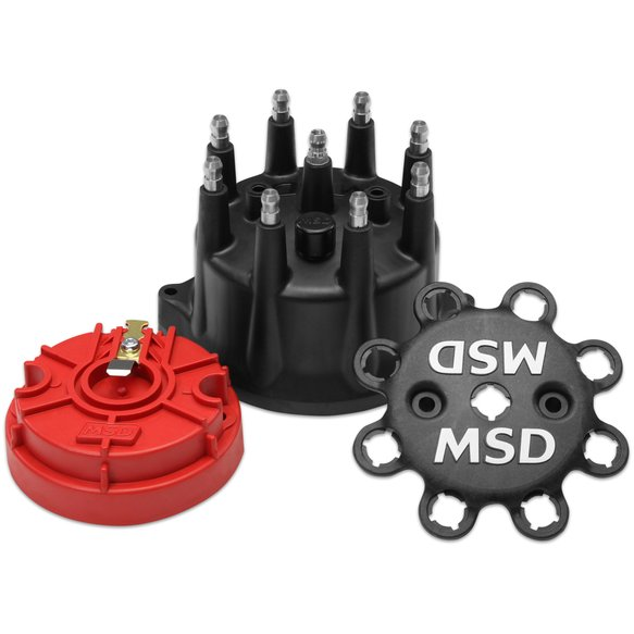 84317 - Black Small Diameter Cap and Rotor Kit Image