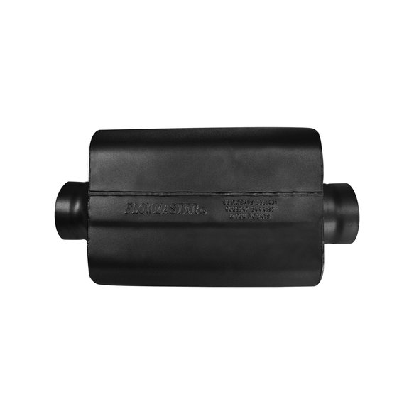 8435409 - 40 Series Race Muffler 409S - 3.50 Center In / 3.50 Center Out -Aggressive Sound - additional Image