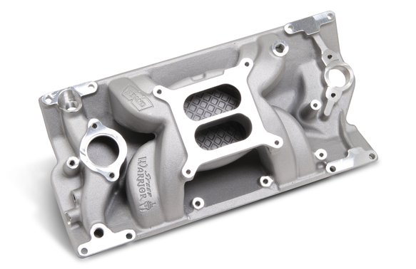 8502 - Weiand Speed Warrior Intake - Chevy Small Block V8 Image