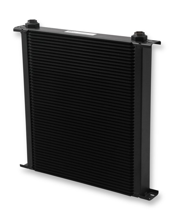 850ERL - Earls UltraPro Oil Cooler - Black - 50 Rows - Extra-Wide Cooler - 10 O-Ring Boss Female Ports Image