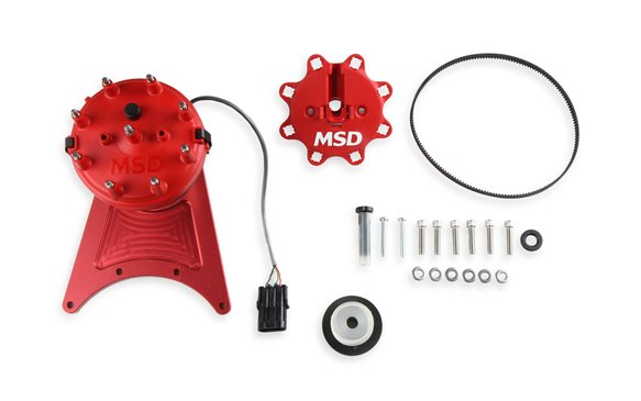 85101 - MSD Front Drive Distributor with Adjustable Cam Sync Image