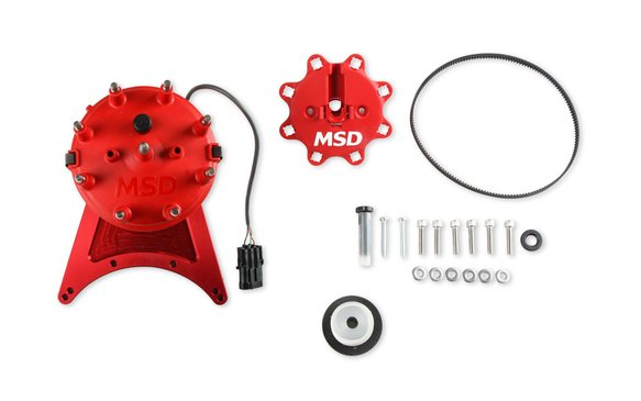85201 - MSD Front Drive Distributor with Adjustable Cam Sync Image