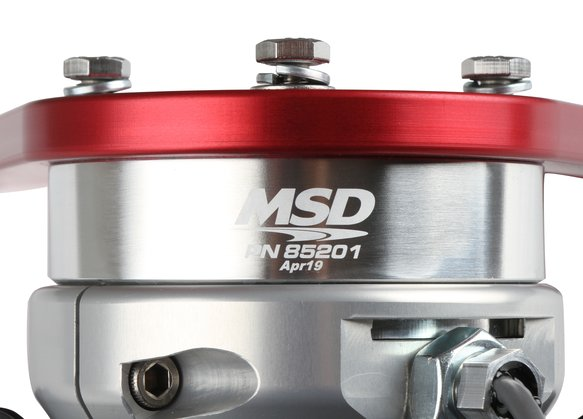85201 - MSD Front Drive Distributor with Adjustable Cam Sync - additional Image