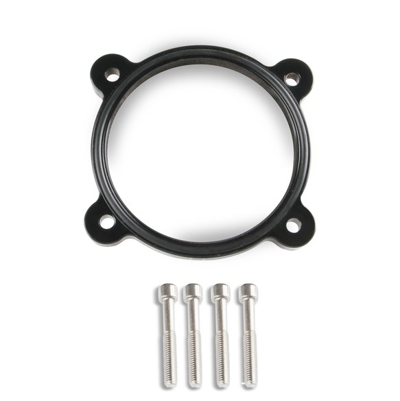 860003B - Throttle Body Spacer Black 2011-present Ford Coyote 5.0L V8 Image