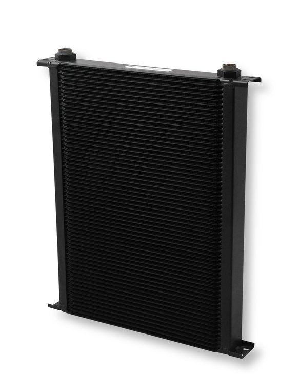 860ERL - Earls UltraPro Oil Cooler - Black - 60 Rows - Extra-Wide Cooler - 10 O-Ring Boss Female Ports Image