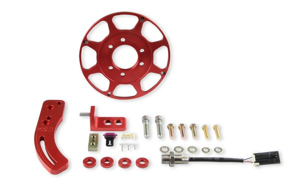 86201 - MSD Chevy Big Block Hall-Effect Crank Trigger Kit Image