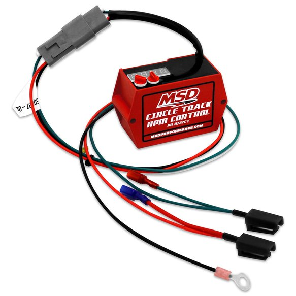 8727ct - circle track digital soft-touch hei rev limiter - additional image