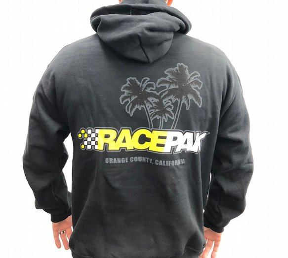 880-PM-SSP-L - Racepak Palm Tree Hoodie Sweat Shirt - additional Image
