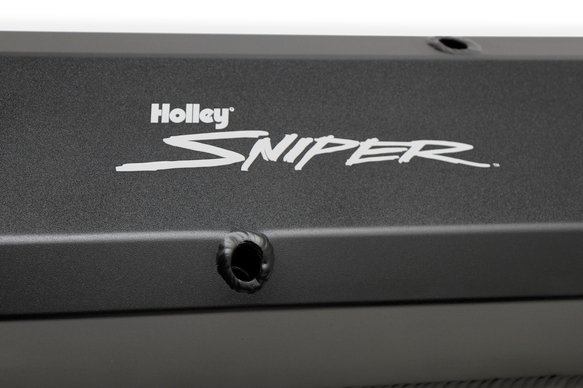 890003B - Sniper Fabricated Aluminum Valve Cover - Chrysler Small Block - Black Finish - additional Image