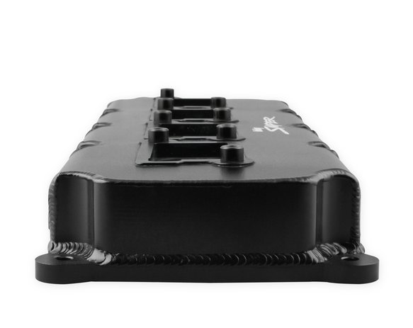 Sniper Fabricated Valve Covers - 5 7L-6 4L Mopar Gen III Hemi - Black Finish