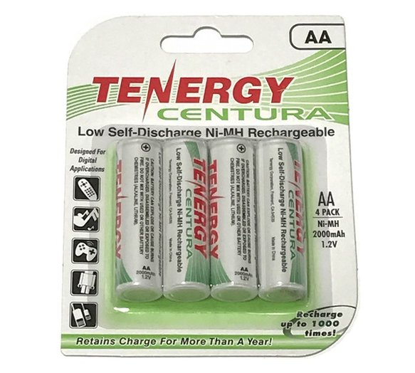 89118-2001 - VANTAGE RECHARGEABLE 'AA' BATTERIES Image
