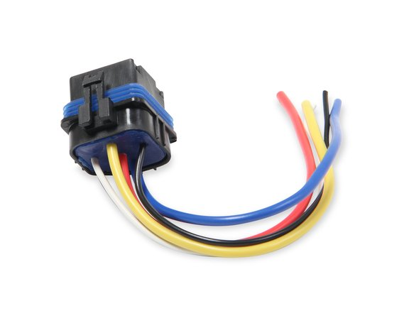 89611 - MSD SPST Relay w/Socket Harness - additional Image