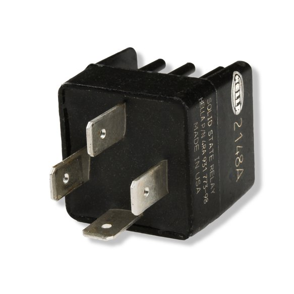 89612 - MSD Solid State N/O Relay w/Socket Harness - additional Image