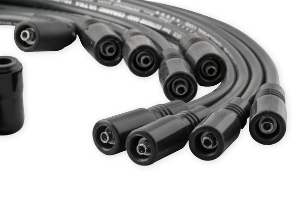 Accel 9042ck Spark Plug Wire Set Extreme 9000 Black