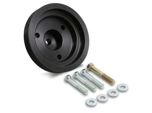 90592 - Weiand 144 Powercharger Crank Pulley - 6-Rib Image